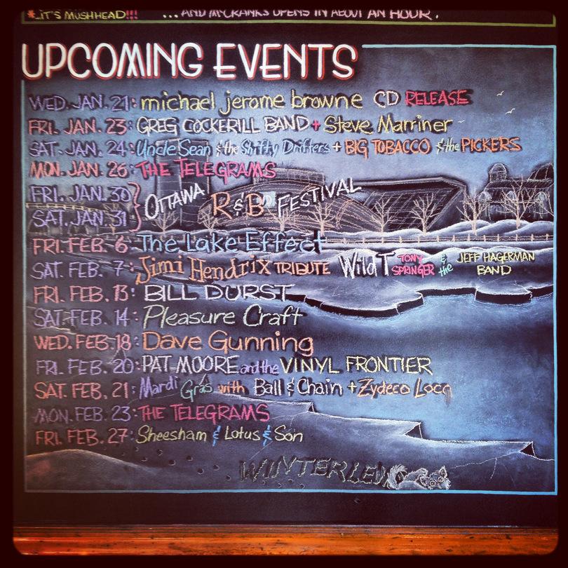 Live Music Listings at Irene's Pub