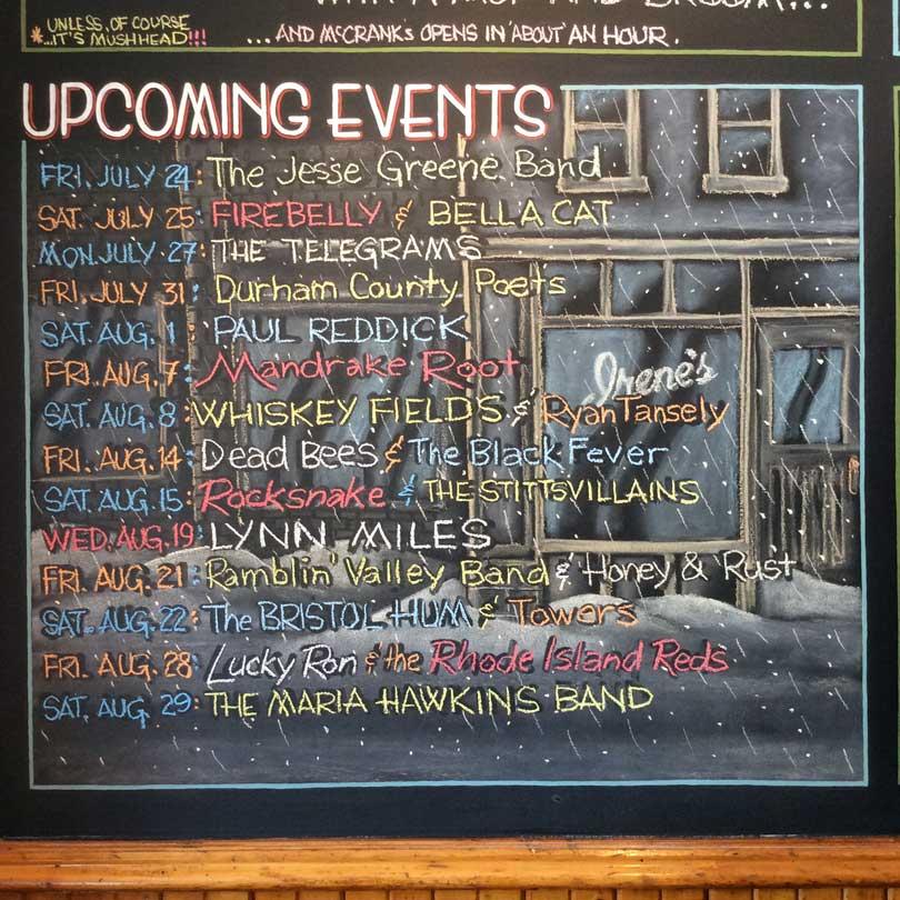 Chalkboard June 2015