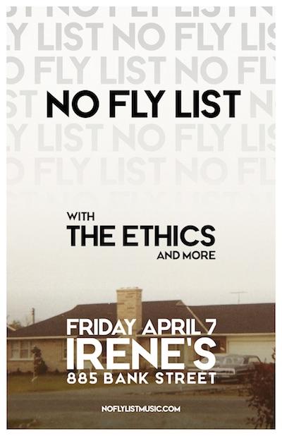 no fly list April